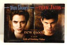 Twilight New Moon - Team Edward / Team Jacob - Gift of Holiday Value Postcard BK
