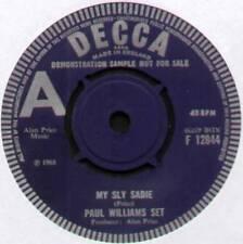 """[ALAN PRICE] PAUL WILLIAMS SET~MY SLY SADIE / STOP THE WEDDING~1968 UK """"DEMO"""" 7"""""""