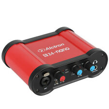 USB Audio Recording Interface External USB Sound Card Mic Amplifier w/ USB Cable