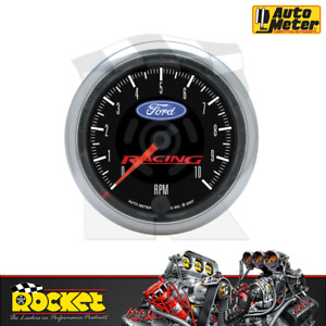 Auto Meter Fits Ford Racing 3-3/8 In-Dash Tachometer 0-10000RPM - AU880084