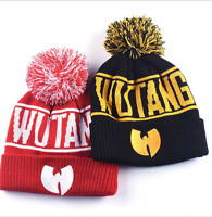 NEW Wu-Tang Clan Beanie Skullies Knitted Wu Tang Hat HipHop Winter best Quality