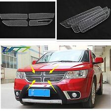 Steel Honey Shape Front Centre Grille Grill Cover Fit For Dodge Journey 2013
