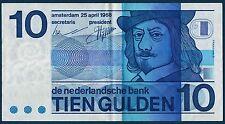 BILLET de BANQUE des PAYS-BAS.10 GULDEN Pick n°91 du 25-4-1968 en TTB 9391477878