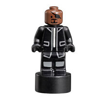 Lego Marvel 76042 The SHIELD Helicarrier Nick Fury Statuette Microfig Minifigure