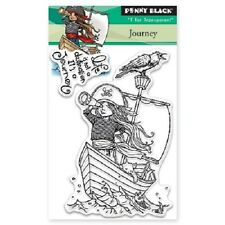 PENNY BLACK RUBBER STAMPS CLEAR JOURNEY NEW clear STAMP
