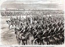 Piacenza: Generale Enrico Morozzo Della Rocca e Corpo d'Armata.Risorgimento.1866
