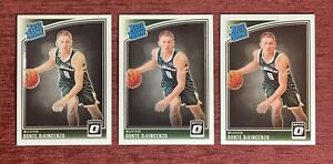 Lot of (3) 2018-19 Donruss Optic DONTE DiVINCENZO Rated Rookie #164 RC Bucks🔥