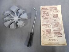 Vintage 8 in 1 Hostess Mold Ett French Frying Bonley Product Appetizers Desserts