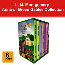 Anne of Green Gables Collection L. M. Montgomery 6 Books Box Set Pack NEW