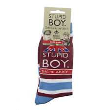 Official Dad's Army Pike Stupid Boy Socks Size 8-12 Christmas Birthday Gift Men