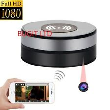 1080P HD WIFI wireless charger pad spy camera smart Security video recorder IR
