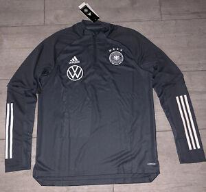 DFB Deutschland Trainingstop XL Matchworn Sweatshirt Jacke Trikot Germany