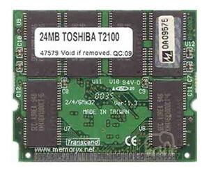 Vintage Toshiba Satellite T2100CT T2105CT T2130CT T2150CD 24MB RAM Memory Module