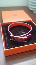 Hermes Behapi Simple Tour (size S) - Reversible leather bracelet