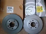 Front Brake Disc Rotor Set of 2 Genuine Mini R60 Countrman S 34119811538