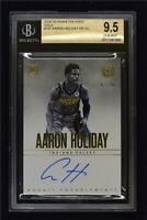 2018-19 Encased Graded 9.5 Rookie Endorsements Gold Auto Aaron Holiday /10