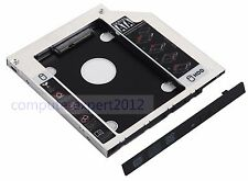 2nd SATA SSD HDD Hard Drive Tray Caddy for Fujitsu Lifebook P771 P772 S760 S904