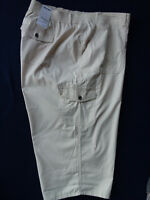 Women's Sonoma Capri Skimmer Mid Rise Hits Below Knee Stretch Beige Sz 24W NWT
