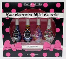 JEANNE ARTHES LOVE GENERATION Collection Set EDP For Women Perfume Fragrance NIB