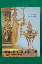 catalogue vente enchères LILLE 1990 Art nouveau deco bijoux tableaux meubles (3)