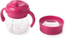 OXO Tot Hard Spout Sippy Cup Set for Baby Boys and Girls Spill Proof, Red: 150ml