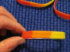 Lot Of 5 JP Morgan Chase LBGT Rubber Wrist Bands Advertising Gay Pride