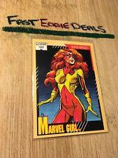 IMPEL MARKETING 1991 MARVEL COMICS MARVEL GIRL TRADING CARD 4 EXCELLENT