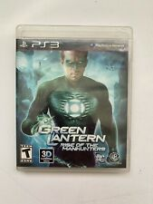 Green Lantern: Rise of the Manhunters (Sony PlayStation 3) PS3 Tested