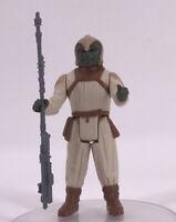 Vintage 1983 Kenner Star Wars Figures Complete Rare ROTJ Klaatu Skif Staff Toy