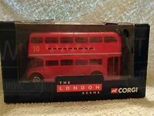DIECAST MODEL RED BUS AEC ROUTEMASTER  CORGI TY82301 LONDOM SCENE ALDWYCH