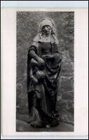 ROTTWEIL Lorenzkapelle Skulptur Heilige Elisabeth ~1955 Postkarte