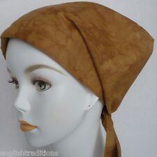 Cancer Chemo Hat Hair loss Cotton Alopecia Scarf Turban Head Wrap Cover Camel