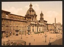 Piazza Navona Rome A4 Photo Print