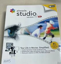 Pinnacle Studio Version 11 Videobearbeitung Lösung Boxed