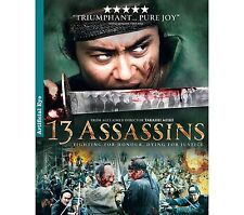 13 assassins-- Hong Kong Kung Fu Martial Arts Action movie DVD - NEW DVD