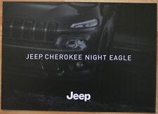 Rare Catalogue Jeep Cherokee Night Eagle - 12/2015 - France - 10p