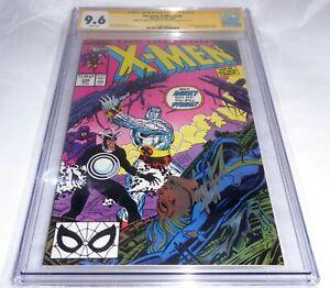 Uncanny X-Men #248 CGC SS Dual Signature Autograph STAN LEE CLAREMONT 1st Jim 🔥