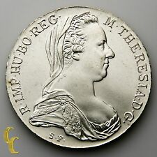 1780 SF Austria Maria Theresia Thaler (Brilliant Uncirculated BU) Restrike KM#T1