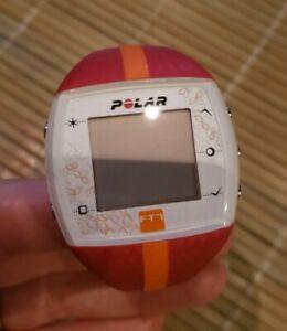Women's Polar FT-7 Heart Monitor/Watch ,Watch Only & Needs Battery 🔋