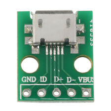 MICRO USB to DIP Adapter 5pin Female Connector B Type PCB Converter LU