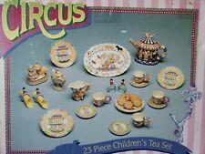 Vintage Kids Circus tea set 23 piece