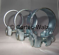 3 Stück Auspuffschelle Breitbandschelle Rohrverbinder  Ø 48 mm