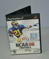 NCAA Football 06 (Sony PlayStation 2, 2005) Complete