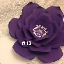 Hard Copy Paper Flower Template #13, DIY Paper Flower Backdrops, Flower Petal