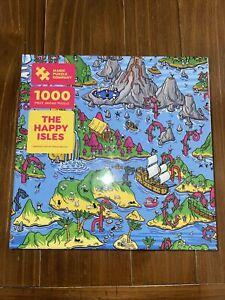 Magic Puzzle Company The Happy Isles 1000 piece New Sarah Becan
