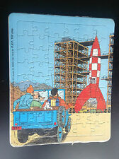 Puzzle Tintin Lombard 1985 Objectif lune ETAT NEUF SOUS CELLO