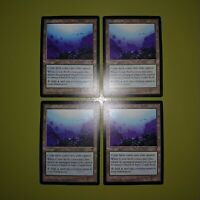 Coral Atoll x4 Visions 4x Playset Magic the Gathering MTG 1 Foreign