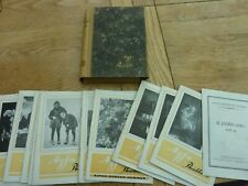 1925 & 1926 COMPLETE ORIGINAL AGFA GERMAN PHOTO MAGAZINES IN BINDER 12 ISSUES