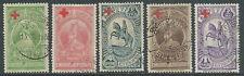 1936 ETIOPIA USATO SOPRASTAMPATI CROCE ROSSA - R11-10
