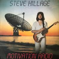 STEVE HILLAGE - Motivation Radio (LP) (EX/VG-)